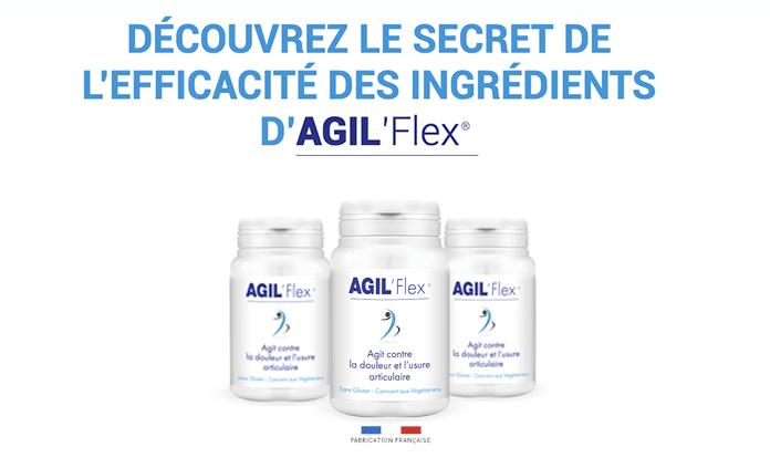 Composition d'Agil'Flex