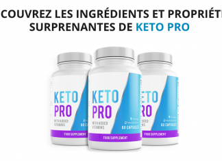 Composition de Keto Pro