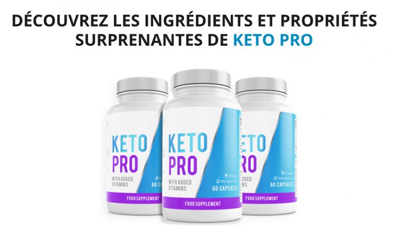 Quelle est la composition de Keto Pro ?