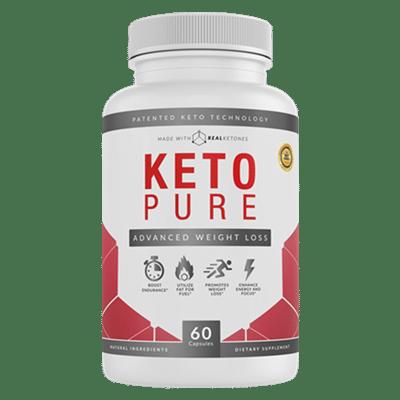 Bouteille de Keto Pure