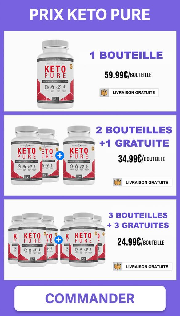 Prix des offres de Keto Pure